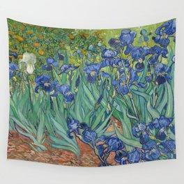 Irises Wall Tapestry
