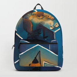 SICK AT THE OFFICE Backpack