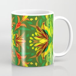 Abstract Garden 2a Coffee Mug