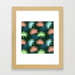oversized palms Framed Art Print