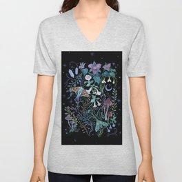 Night Garden Unisex V-Neck