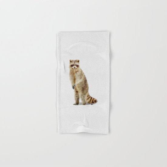 Raccoon Hand & Bath Towel