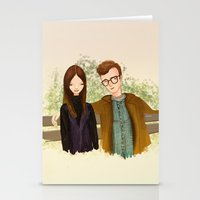 annie hall Stationery Cards featuring Annie Hall by Renia