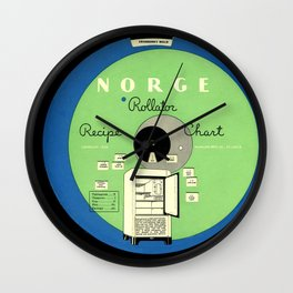 The Norge Rollator Wall Clock
