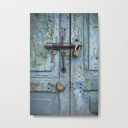 Old Door Metal Print