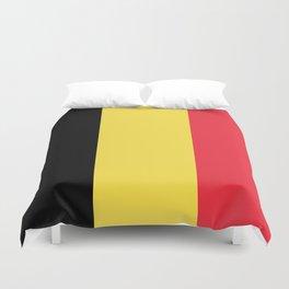 Flag of Belgium Duvet Cover