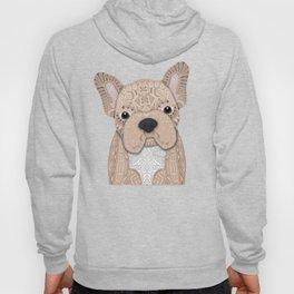 Beige Frenchie Puppy 001 Hoody