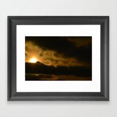 Beauty in the Storm Framed Art Print