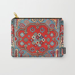Zeikhur Kuba East Caucasus Rug Print Carry-All Pouch