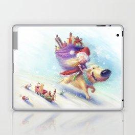 Christmas Companion Laptop & iPad Skin