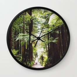 Redwood path Wall Clock