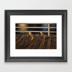 Limp Framed Art Print