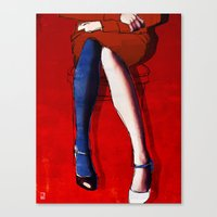 legs Canvas Prints featuring Legs by Ed Pires