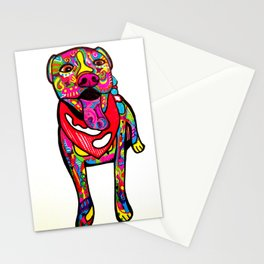 Pitbull Linus Stationery Cards