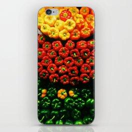 Bell Pepper Display iPhone Skin