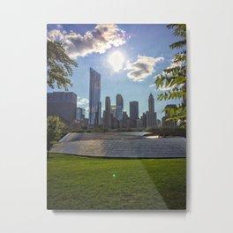 Chicago Millennium Park Metal Print