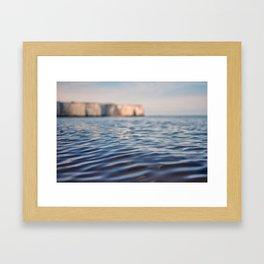 Kingsgate Beach Framed Art Print