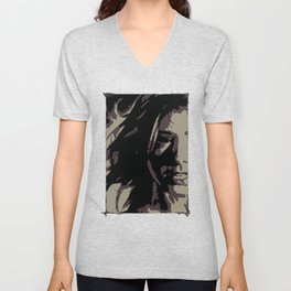 Dark Willow Unisex V-Neck