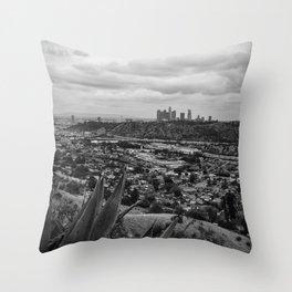 Buenos Dias, Los Angeles Throw Pillow