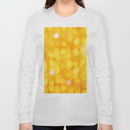 Disco Fever in Yellow Long Sleeve T-shirt