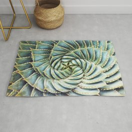 Succulent by Zouzounio Art Rug
