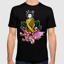 Chrysanthemum Geisha T-shirt