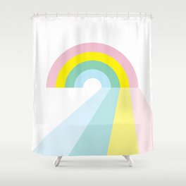 Life is a journey, Enjoy the Pride! #rainbow #Pride #lifestyle Shower Curtain