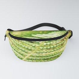 Green Fern Fanny Pack