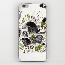 DARWIN FINCHES iPhone Skin