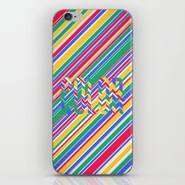 Color Stripes iPhone Skin