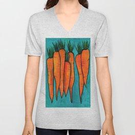 Carrots Unisex V-Neck