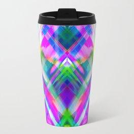 Colorful digital art splashing G469 Travel Mug