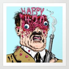 Happy 420 Art Print