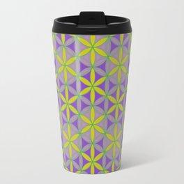 Flower of Life Pattern 2 Travel Mug