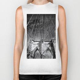 Brooklyn Bridge Architecture Biker Tank