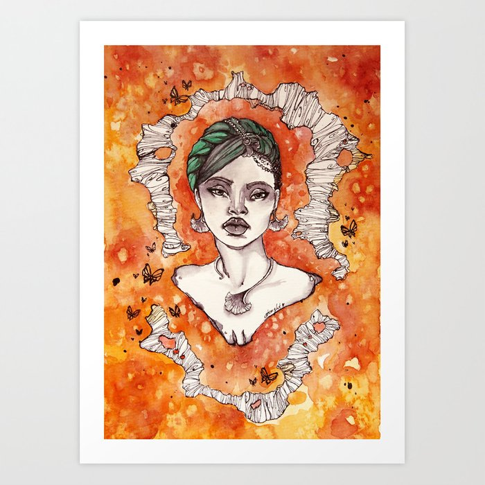 Strenght To Be  Art Print