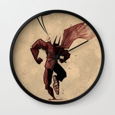 Action hero Wall Clock