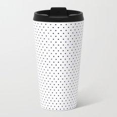 Polka Dot Metal Travel Mug