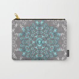 Mandala Pattern with Glitters Carry-All Pouch