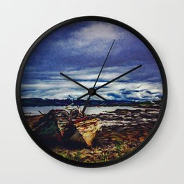 Watercolor Impression Wall Clock