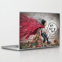 akira Laptop & iPad Skins featuring Akira Tetsuo  by Joe Badon