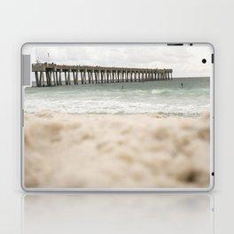 Sand at the pier - Panama City Beach Laptop & iPad Skin