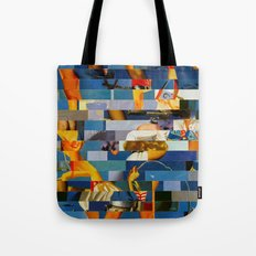 Shiver Me Ikea Timbers (Provenance Series) Tote Bag
