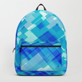 Digital Blue Pool Backpack