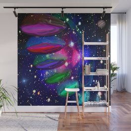 Intergalactic Invasion Wall Mural
