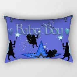 Baby Boy Fairies Rectangular Pillow