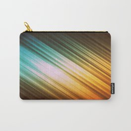 Autumn Glow Stripes Carry-All Pouch