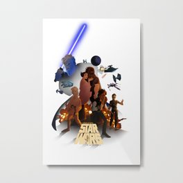 I grew up with a new hope 2 Metal Print