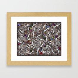 Her_Opal_Spirits#2–GeoffSellman Framed Art Print