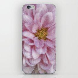 Petals In Soft Pink iPhone Skin